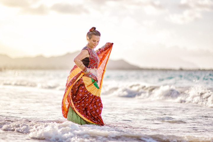 Belly Dance shoot Kailua Oahu Hawaii