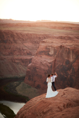 Wedding Photography Horseshoe Bend Page Arizona