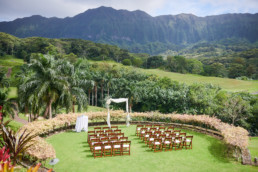 Royal Hawaiian Golf Club Wedding Oahu Hawaii
