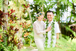 Wedding Photography Hale Koa Estate Oahu